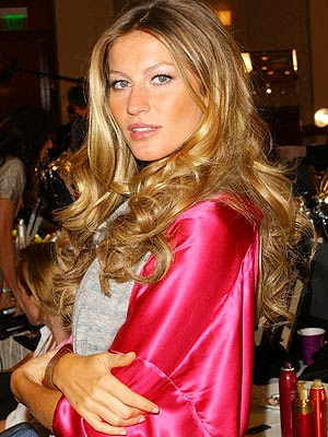 gisele bundchen hair. Supermodel Gisele Bundchen who