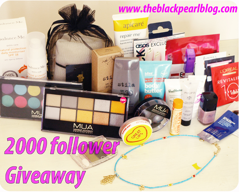 The Black Pearl Blog&#39;s 2000 Followers Giveaway