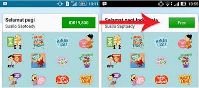 Cara Mudah dan Mudah Dapat STICKER BBM Android GRATIS Tanpa Root