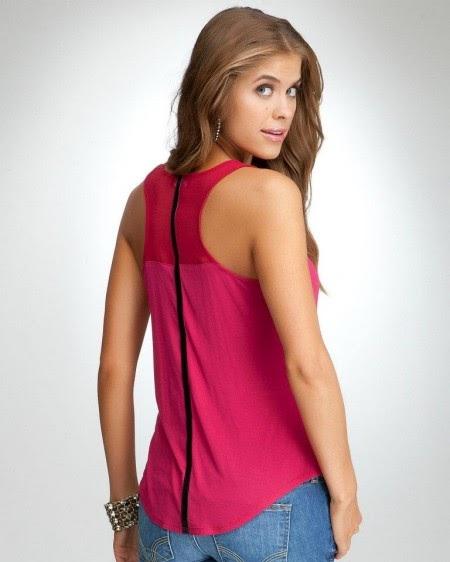 Ultima moda y mucho mas ropa para mujer blusas color - Blusas de ultima moda ...