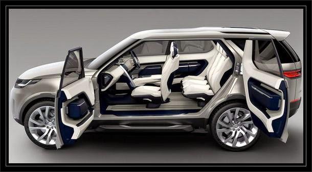 Land Rover 2016 portas que abrem igual janela