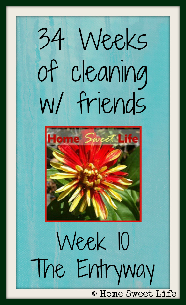 34 weeks of cleaning with friends