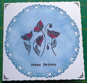 Another card featured on Little Claire's Blog