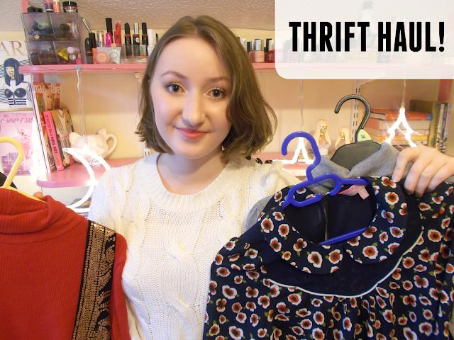 Autumn/Winter thrift haul!