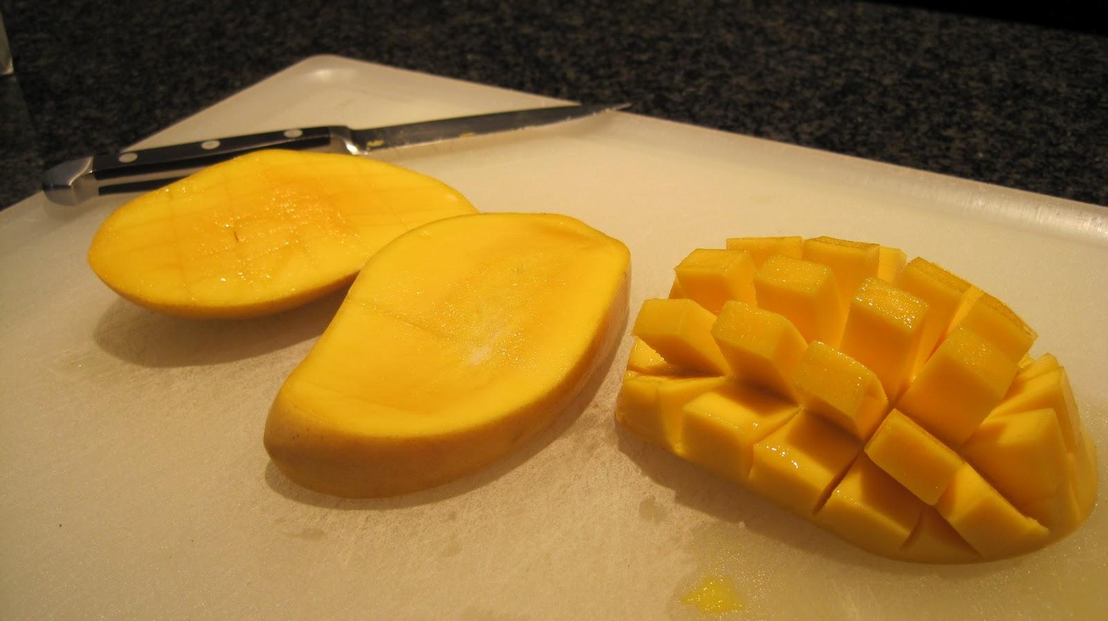 how to make mango sorbet at home