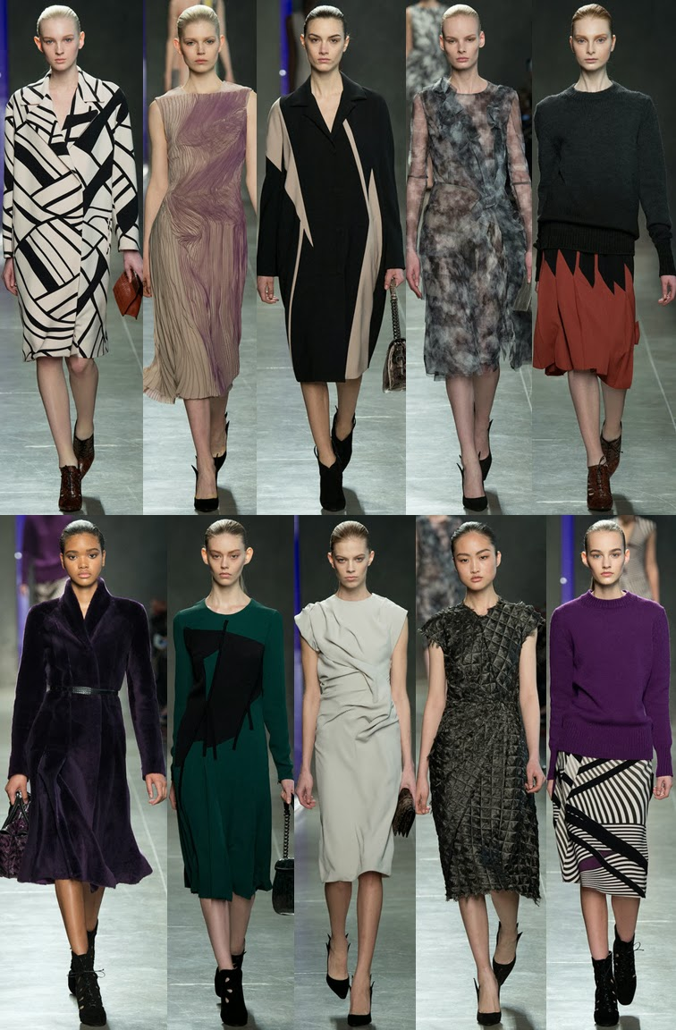 Bottega Veneta fall winter 2014 runway collection, Tomas Maier, FW14, AW14, MFW, Milan fashion week