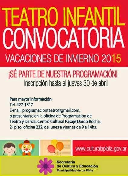 Convocatoria Vacaciones de Invierno 2015