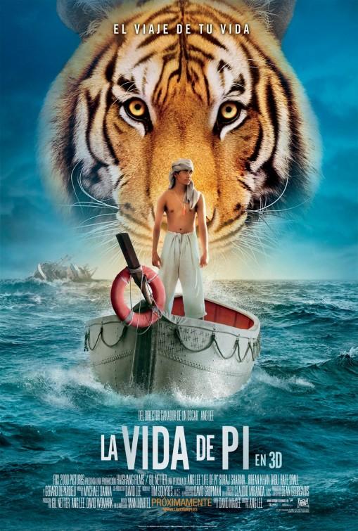 Life of pi teaser trailer for Life of pi tiger name