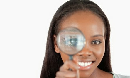 black girl woman with magnifying glass,Has the G-Spot Been Over-Marketed