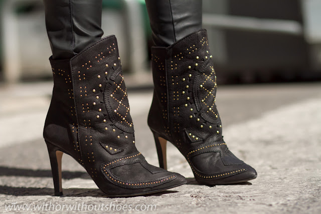 Cowboy studded boots - Fashion Shoes Blog Spain