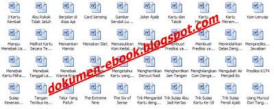 Download Ebook 40 Trik Sulap