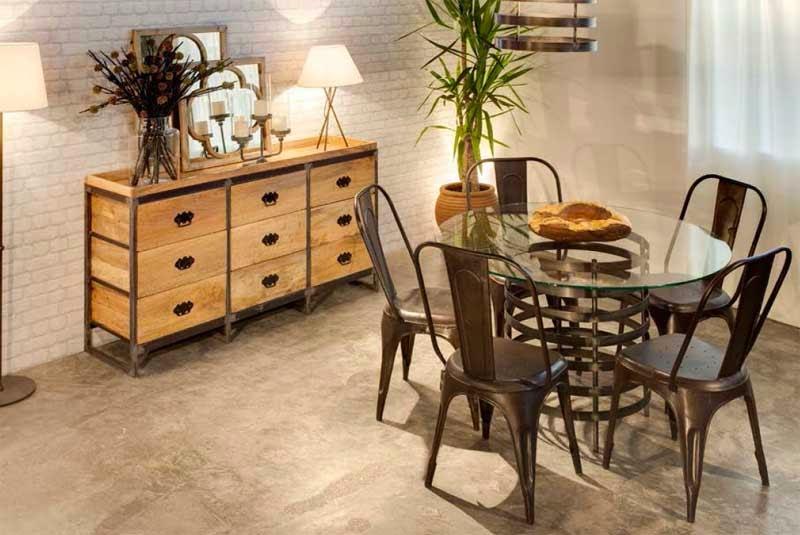 Muebles de forja sillas de forja serie antic tolix basic for Mesas y sillas de forja
