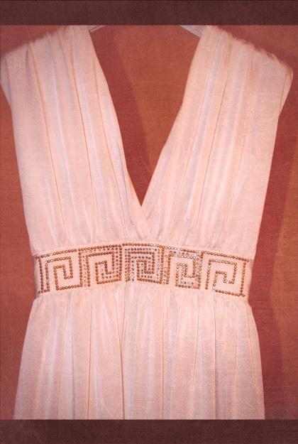 Как сшит платье в греческом стиле 565