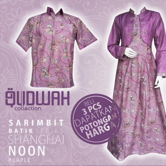Batik Unik Batik Shop Baju Muslim Modern Muslimah