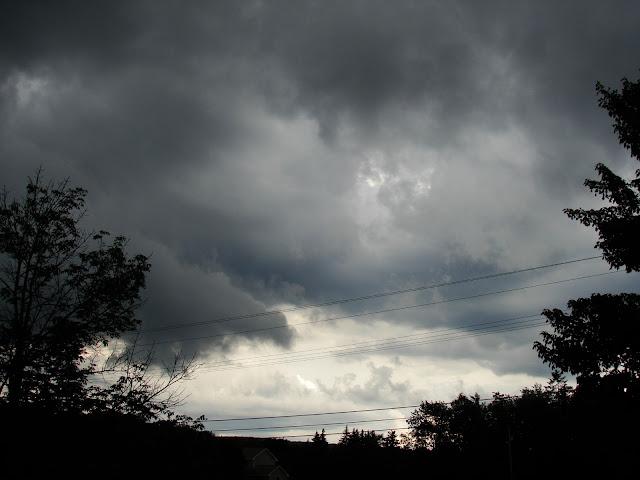 rain clouds real life