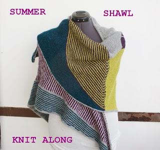 Summer Shawl Knit Along
