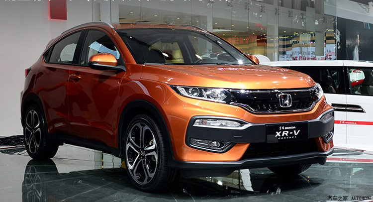 Honda Debuts New XR-V Made In and For China