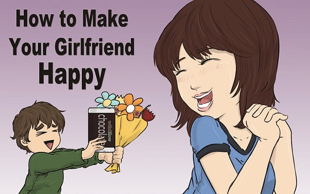 How to Make Your Girlfriend Happy?