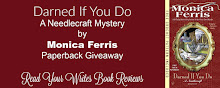 Giveaway ~ DARNED IF YOU DO by Monica Ferris