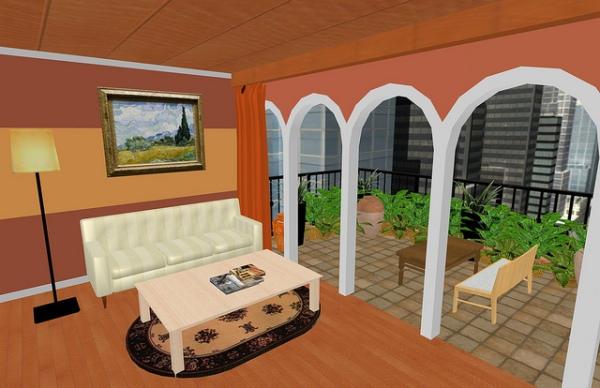 Large Balcony Design Ideas