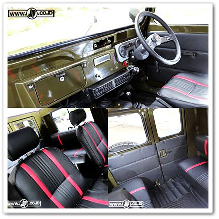Interior Mobil Jip Modifikasi - Daihatsu Taft F50 Kebo 1980