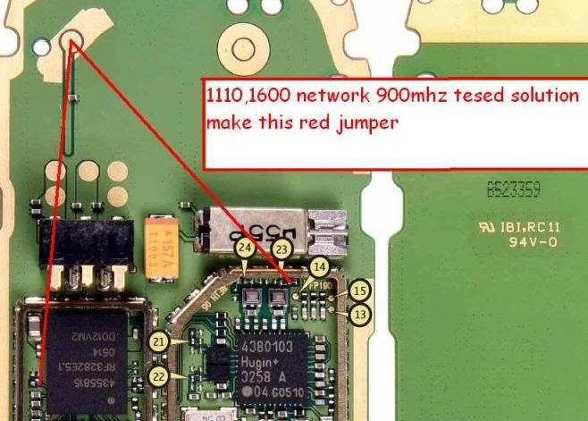 Nokia 1600 Network Problem Solution