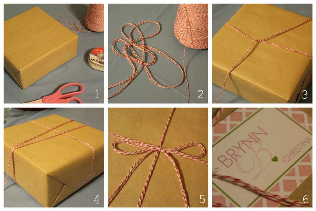 How To Wrap A Wedding Gift Box : Carolina Charm: Bakers Twine Gift Wrapping