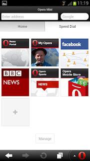 Opera Mini Android Browser Tercepat dan Terbaik