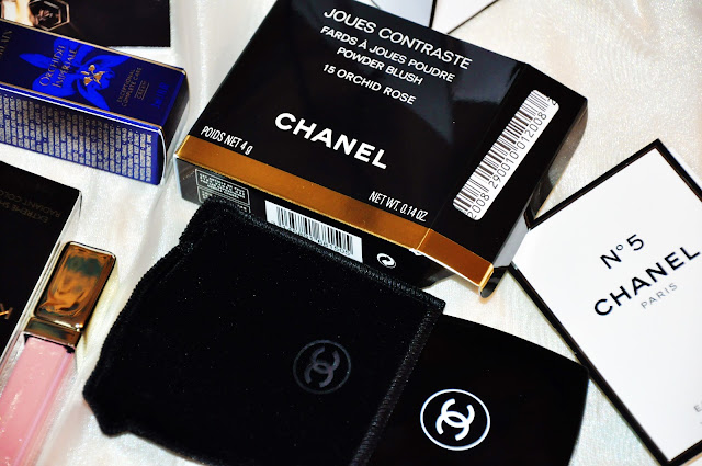 chanel blush orchid rose