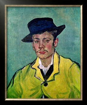 portrait art for salon wall, Portrait of Armand Roulin, van Gogh