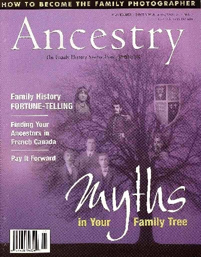 Ancestry Magazine, Salt Lake City