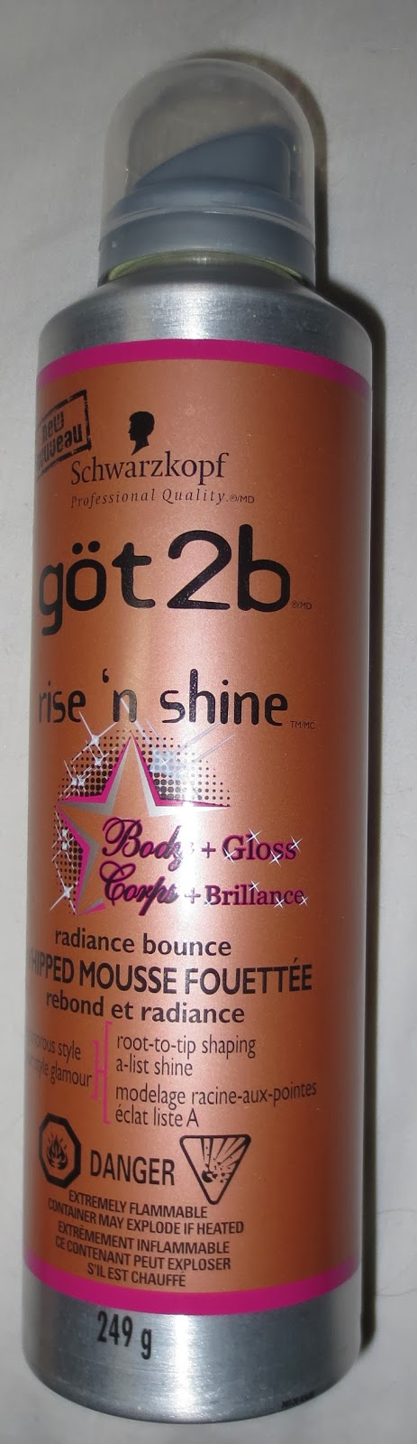 göt2b Rise 'n Shine Radiance Bounce Whipped Mousse