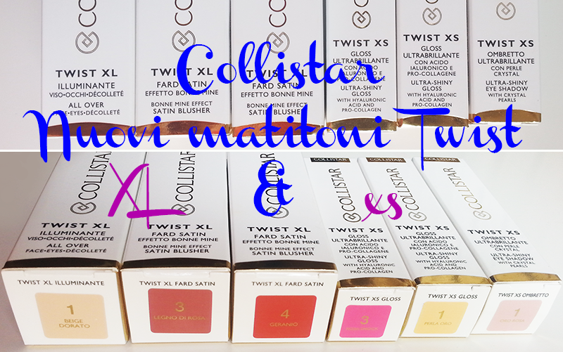 Collistar Twist XL xs, Matitoni Collistar, Twist, Twist XL xs, Collistar
