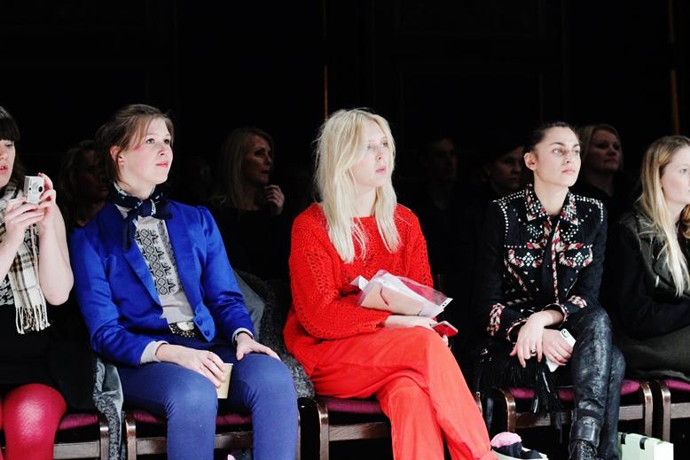 first row, who is sitting first row at fashion week, copenhagen, borsen, seating in borsen copenhagen, italian vogue editors first row
