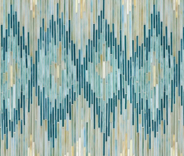 New Ravenna Ikat tile pattern
