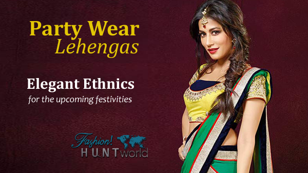 Women Summer Party Wear Lehengas