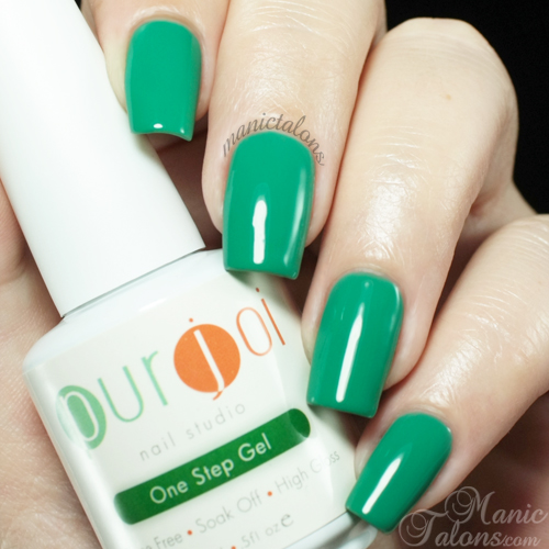 Purjoi One Step Spring Break Swatch