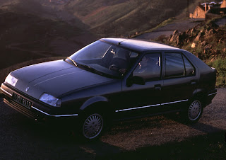 Phase 1 Renault 19 was a little squarer