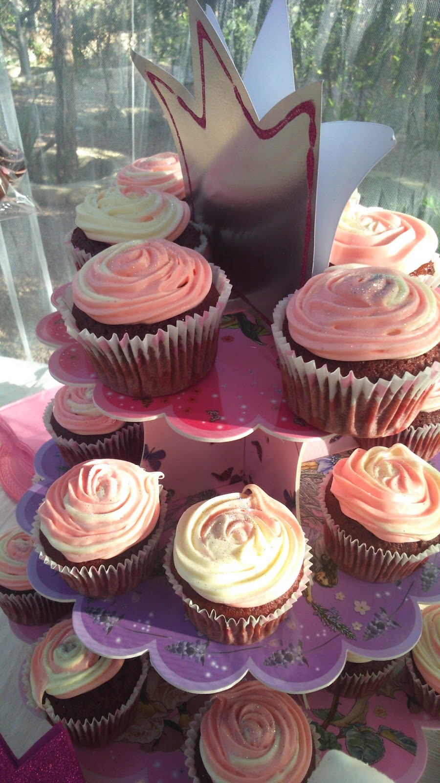 red velvet, cup cakes, rosa, princesas