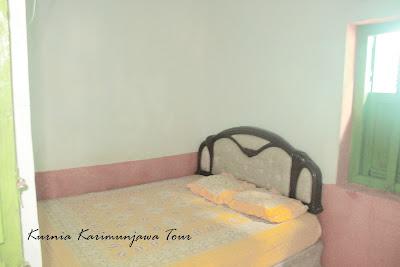 kamar homestay karimunjawa