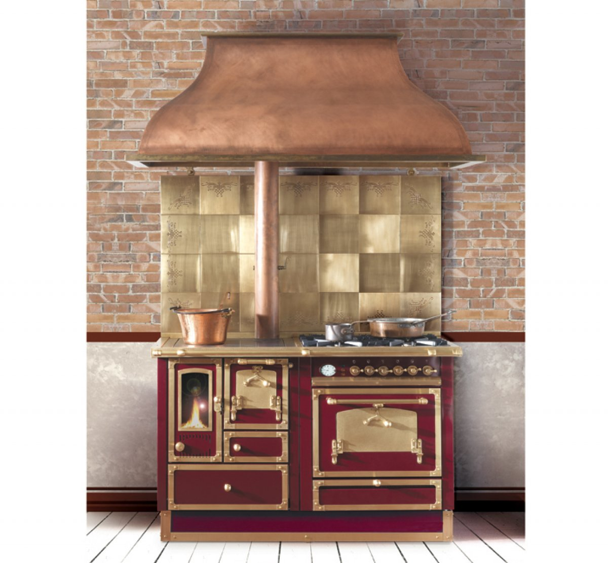 A few current obsessions the enchanted home - Cucine a legna e gas ...