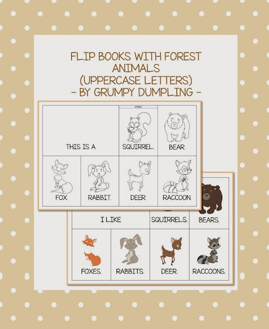 https://www.teacherspayteachers.com/Product/Forest-Animals-Flip-Book-Uppercase-Letters-FLASH-FREEBIE-1529099