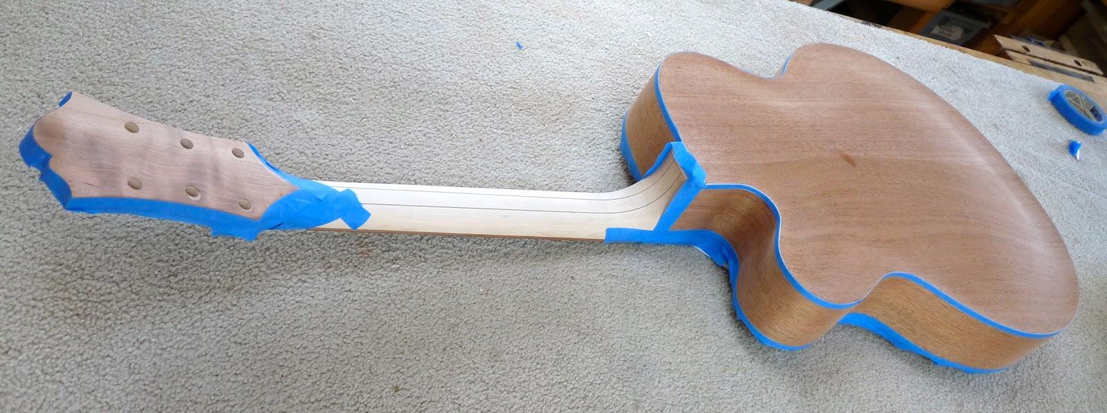 Bob\'s Archtop Guitar Build