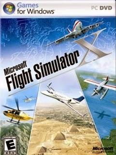 Microsoft Flight Simulator X PC Box