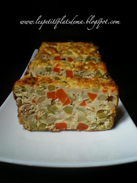 Cake Parmesan Thon