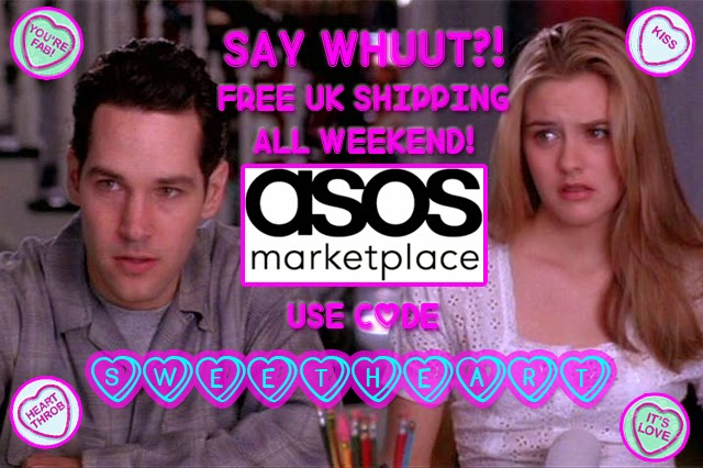 thevintagescene valentines day free shipping asos marketplace vintage