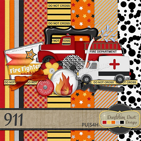 911 by Dandelion Dust Designs Kit Preview