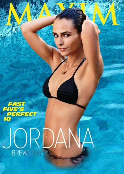 Jordana Brewster Hot Bikini Poses For Maxim USA May 2011 Issue - Jordana ...