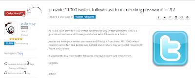 order 11k twitter followers