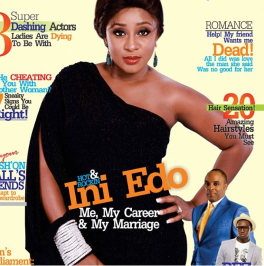 Ini Edo covers Fashion and Lifestyle Magazine
